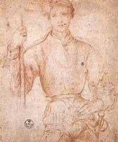 Halberdier, c.1530, pontormo
