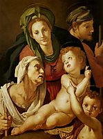 The Holy Family, c.1525, pontormo