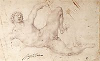 Kicking Player, pontormo