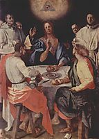 Last Supper at Emmaus, 1525, pontormo