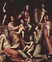 Madonna, angels and saints, 1518, pontormo
