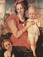 Madonna and Child with the Young Saint John, 1524, pontormo