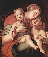 Madonna and Child with the Young Saint John, 1527, pontormo
