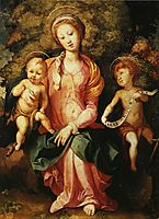Madonna and Child with the Young Saint John, c.1527, pontormo