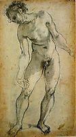 Male Nude, pontormo