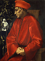 Portrait of Cosimo de- Medici the Elder, c.1520, pontormo