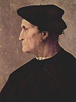 Portrait of Francesco da Castiglione, 1520, pontormo