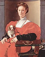 Portrait of a lady in red dress, c.1533, pontormo