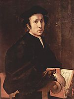 Portrait of a Musician, c.1519, pontormo