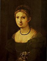 Portrait of a Young Woman, c.1535, pontormo