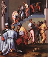 Punishment of the Baker, pontormo