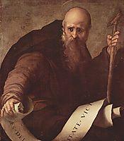 St. Anthony Abbot, 1519, pontormo