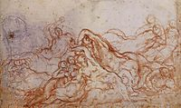 Study for the Deluge, c.1546, pontormo