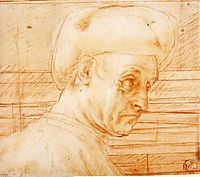 Study of a Man Wearing a Hat, c.1519, pontormo