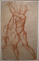 Study of nude, 1518, pontormo