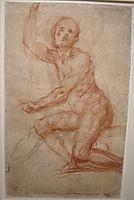 Study of a seated man, 1518, pontormo