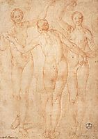 The Three Graces, c.1535, pontormo