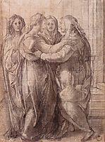 Visitation, c.1528, pontormo