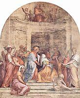 Visitation, c.1515, pontormo