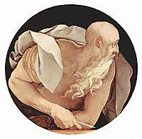 Four Evangelists: Saint John, 1525, pontormo