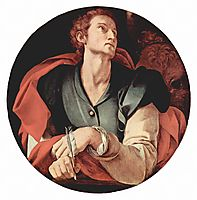 Four Evangelists: Saint Luke, 1526, pontormo