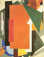 Architectonics in Painting, popova