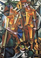 Composition with Figures, 1915, popova