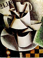 The Jug on the Table , 1915, popova