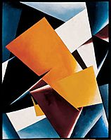 Painterly Architectonic, 1918, popova