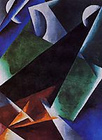 Painterly-Architectonic, c.1918, popova