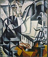 The Pianist, 1914, popova
