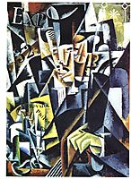 Portrait of a Philosopher, 1915, popova