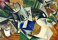Still life with tray, popova