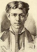 Auto-retrato, 1876, pousao