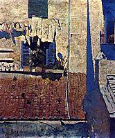 A Casa de Persianas Azuis, 1882, pousao