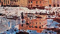Miragem, Nápoles, 1882, pousao