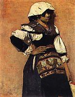 Napolitana, 1882, pousao