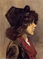 Portrait of a boy, pousao