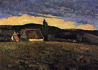 St. Sauves, 1881, pousao
