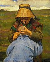 Velha a dobar, 1881, pousao
