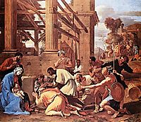 Adoration of the Magi, 1633, poussin
