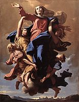 The Assumption of the Virgin, 1650, poussin