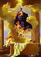Assumption of the Virgin, c.1638, poussin