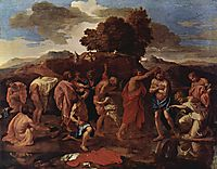 Baptism, 1642, poussin