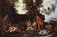 Birth of Bacchus, 1657, poussin