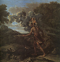 Blind Orion Searching for the Rising Sun, 1658, poussin