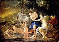 Cephalus and Aurora, 1630, poussin