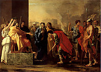 The Continence of Scipio, 1640, poussin