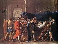 The Death of Germanicus, 1627-1628, poussin