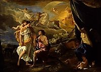 Diana and Endymion, 1630, poussin
